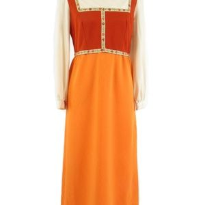 Ayres Unlimited vintage maxi dress M